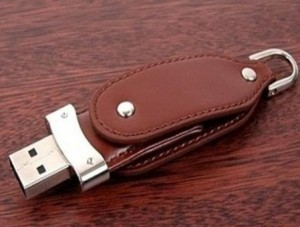 PU cover USB memory stick