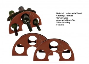 Leather wine_rack