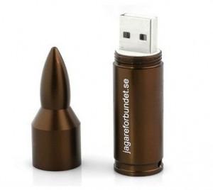 Bullet USB pendrive