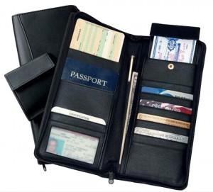 passport organizer 13x25cm(closed)