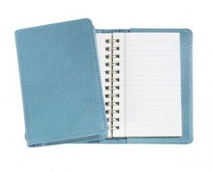 pu stationery spiral mini planner journals hardcover notebook