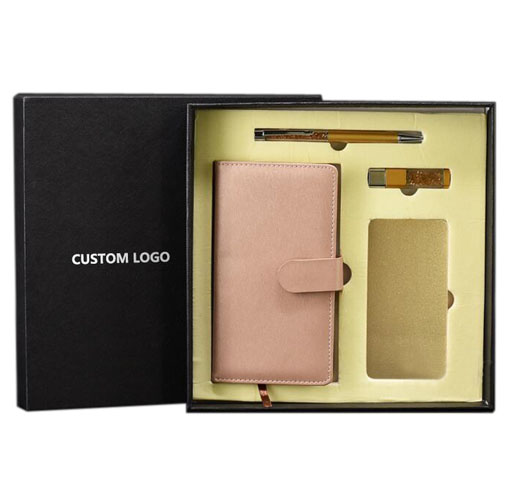 Business Gifts Collection: Business Gift Use Items Notebook Power Bank USB Flash